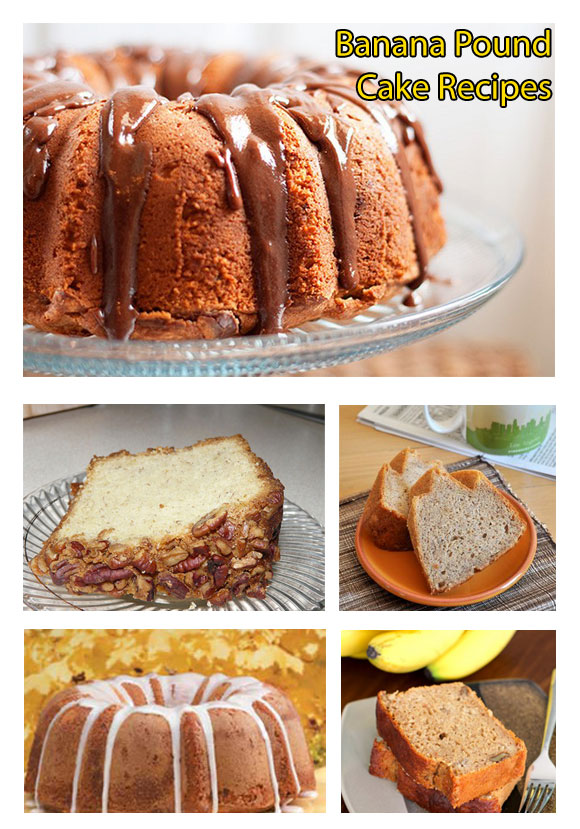 BANANA POUND CAKE RECIPES