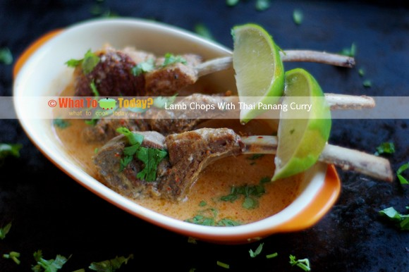 Lamb Chops with Thai Panang Curry recipe by What To Cook Today?
